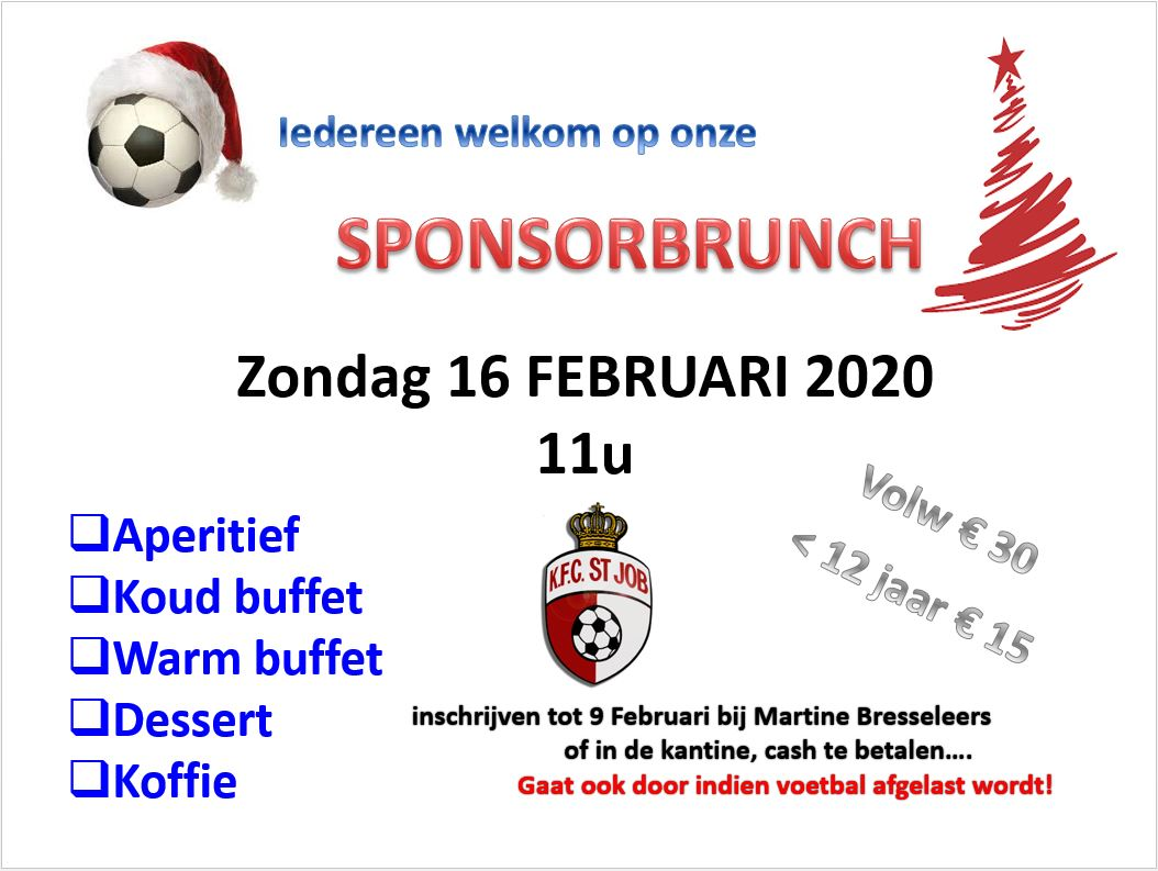 Sponsorbrunch 2020